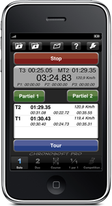 Chronosoft: le chrono pour iphone